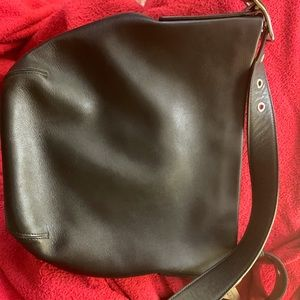 Coach Leather One-strap Purse